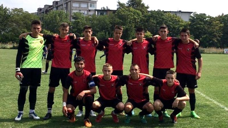"""Индивидуални грешки попречиха на U16 на """"Карнобат"""" да спечели мача с """"Верея"""""""