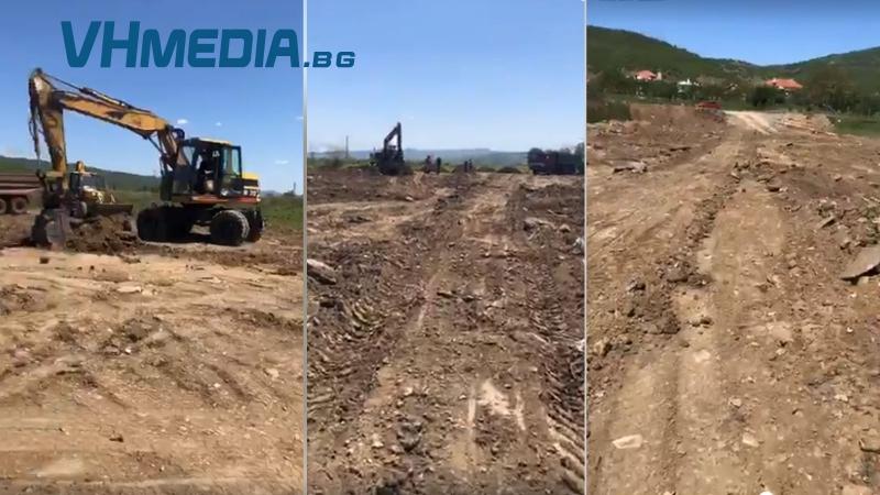 Започна изграждане на стадион в Карагеоргиево
