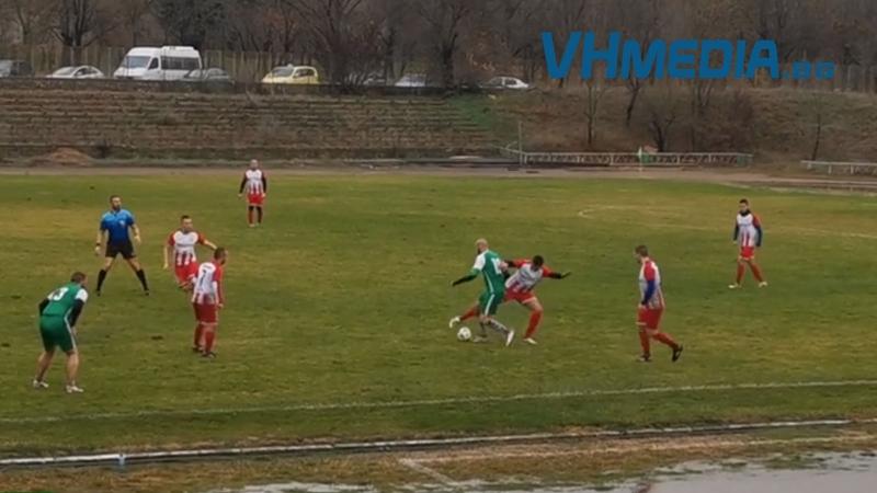 """""""Вихър"""" отстъпи срещу """"Странджа Агрокорн"""" в една от последните есенни срещи"""