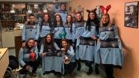 Хандбалният отбор на Несебър с обръщение в навечерието на празниците